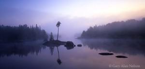 Dawn over Lake Three