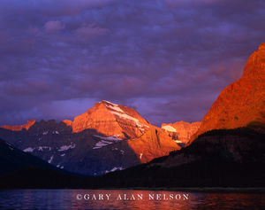 Glacier National Park, Montana, Swiftcurrent Lake, Mt. Gould