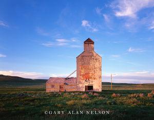 Rural Montana, grain elevator