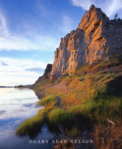 Upper Missouri Wild and Scenic River, Montana, cliff