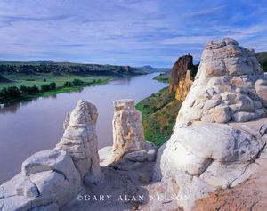 Upper Missouri Wild and Scenic River, Montana, white cliffs, eye of the needle