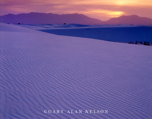 White Sands National Monument. dunes, new mexico