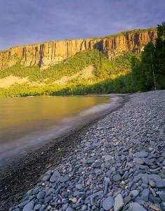Palisade Cliffs and Lake Superior