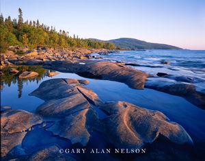 Neys Provincial Park, Ontario, Canada, shoreline