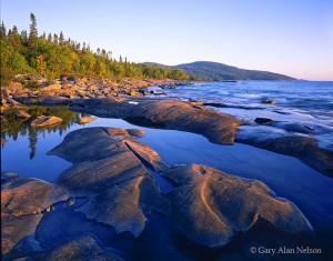 Neys Provincial Park, Ontario, Canada, lake superior, shore