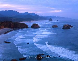 Canon Beach, Oregon, seastacks, pacific ocean