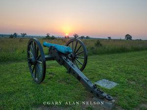 Cannon at Sundown