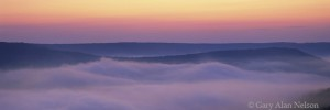 Allegheny River Valley at Dawn