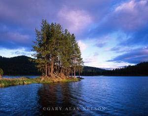 Custer State Park, Black Hills, South Dakota, island, stockaid lake