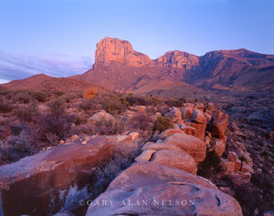 Guadalupe National Park, Texas, boulders