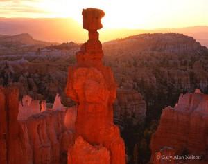 Bryce Canyon National Park, Utah, thors hammer