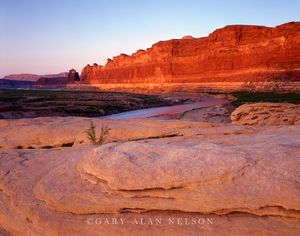 Glen Canyon National Recreation Area, Utah, dried lake bed, dirty devil river