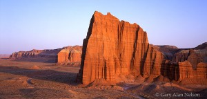 Capitol Reef National Park, Utah, temple of the sun, cathedral valley