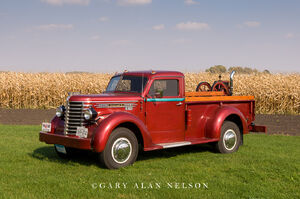 1949 Diamond T, pickup