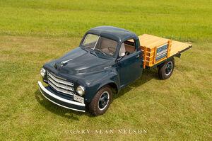 1949 Studebaker, One-ton flatbed
