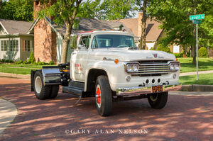 1960 Ford F-1000 Truck Tractor,Ford, antique truck, vintage trucks