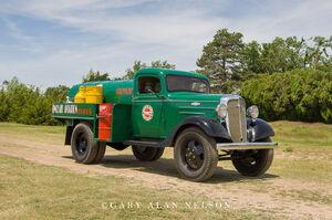 1936 Chevrolet, fuel truck, truck