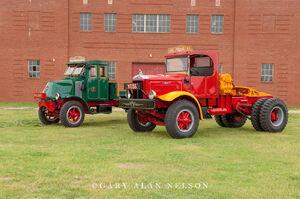 1942 Mack FJ, 1923 Mack AC