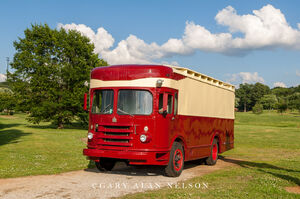 1950 International Harvester Fageol Van,antique truck, vintage truck, international
