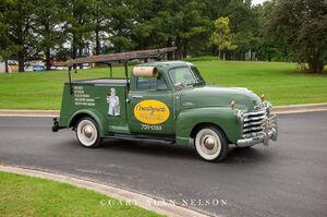 1953 Chevrolet 3100 Utility Truck, chevrolet, truck