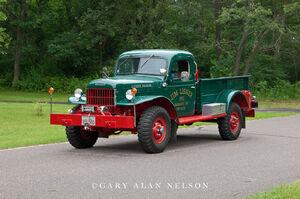 1951 dodge, power wagon,