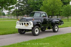 1958 Studebaker four-wheel  pickup