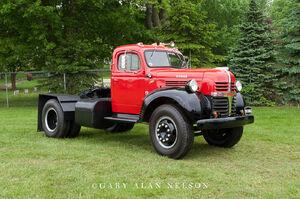 1947 dodge, dodge, semi tractor
