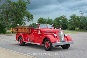 antique truck, vintage truck, Seagrave