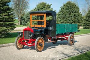 antique truck, vintage truck, Hawkeye
