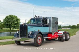 antique truck, vintage truck, Kenworth
