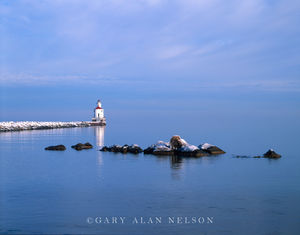 Lake Superior, Wisconsin, lighthouse