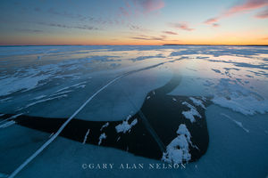 wisconsin, lake superior, ice, Madeline Island, Apostle Islands National Lakeshore