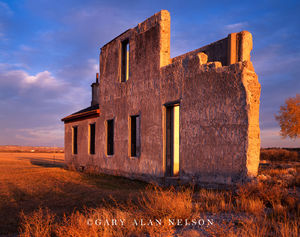 Fort Laramie National Historic Site, Wyoming, ruins