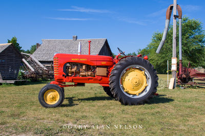 1956 Massey-Harris rwo crop Model 333