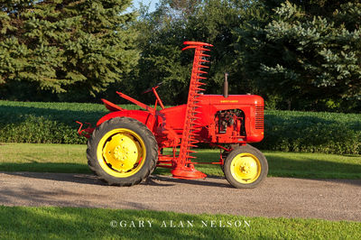 1949 Massey-Harris Pony with a side-mount sickle mower