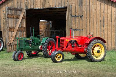 1936 Massey-Harris Challenger and 1938 Massey-Harris Challenger