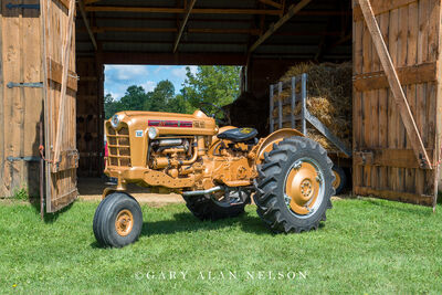 1959 Ford 971 Gold Demo