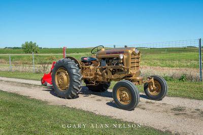 1959 Ford 971 Gold Demonstrator