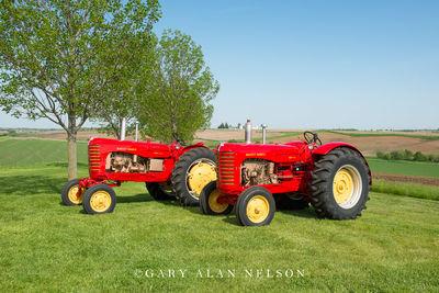 1956 Massey-Harris 444 & 555 Standard Tread.