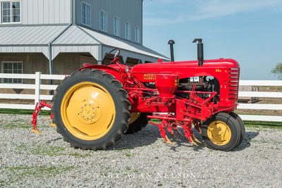 1947-57 Massey-Harris 44-6 with cultivator/planter.