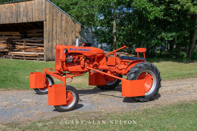1942 Allis-Chalmers C with Ginsing set up