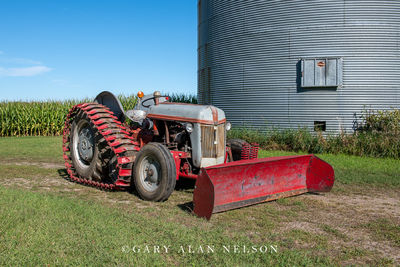 1941 Ford 9N with Arps tracks and Arps blade