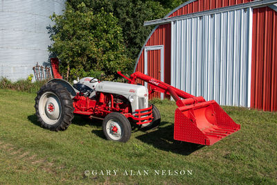 1952 Ford 8N with Ford Loader