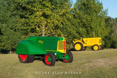 1950 Oliver 77 Orchard and 1954 Oliver 6