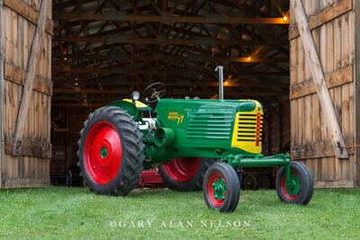 1952 Oliver 77 Row Crop with wide front