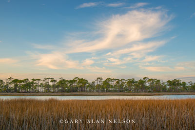 Clouds over St. George Island