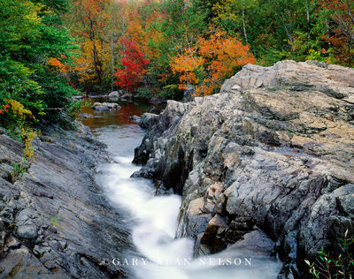 maine, baxter state park, waterfalls, trout creek