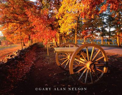 gettysburg, pennsylvania, canons, national military park