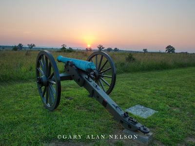 gettysburg, cannon, civil war, pensylvania
