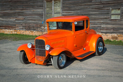 1931 Ford Five Window Coupe